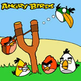 Angry Birds Coloring