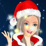 Barbie Christmas Dressup